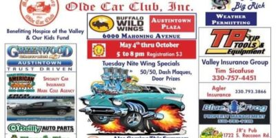 Mahoning Valley Olde Car Club Tuesday Cruise Nite