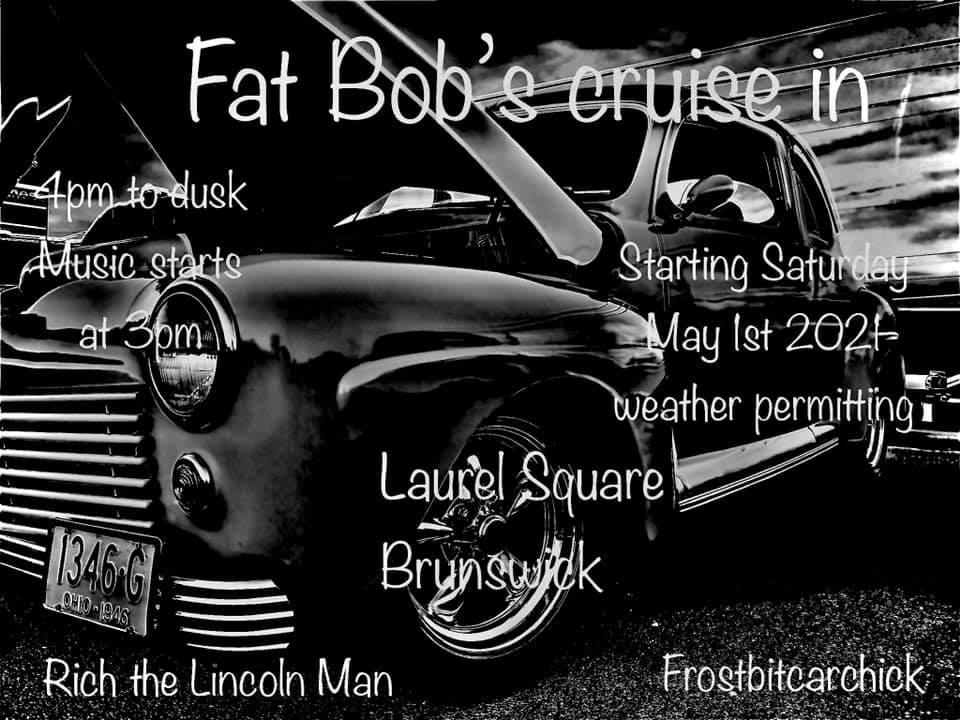Fat Bob's Cruise In @ Laurel Square