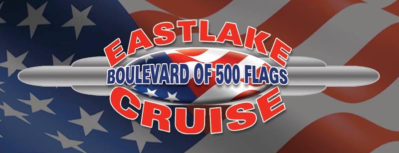 Eastlake Blvd of 500 flags cruise