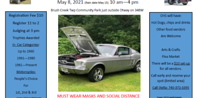 Otway Historical Society and Otway Covered Bridge Car & Motorcycle Show