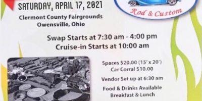 Spring Swap Meet & Cruise In