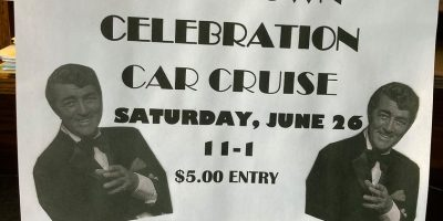 Dean Martin Hometown Celebration Car Cruise
