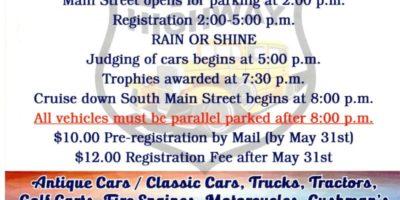 53rd Bluffton Lions Club Festival of Wheels