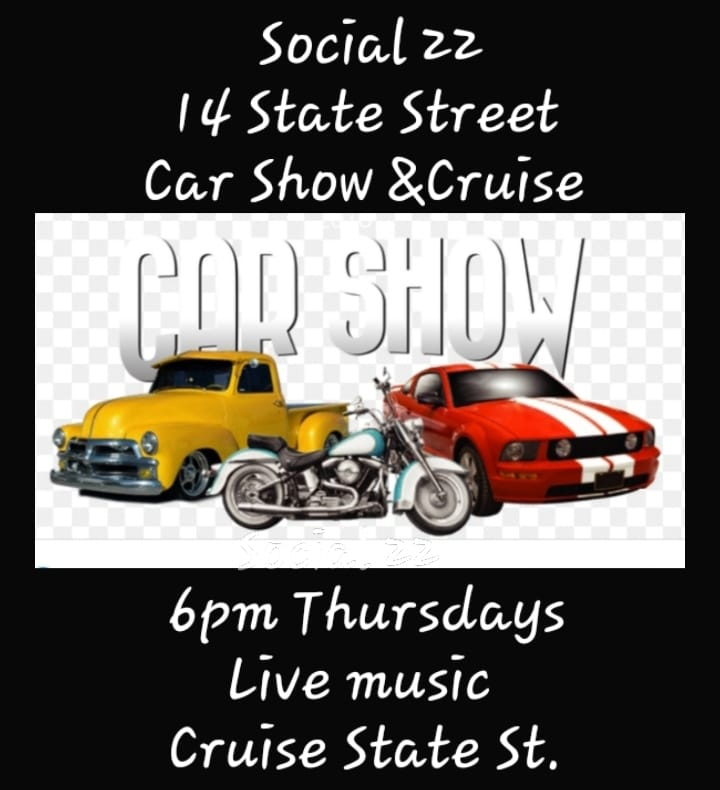 Car & Motorcycle Show and Cruise Down State Street