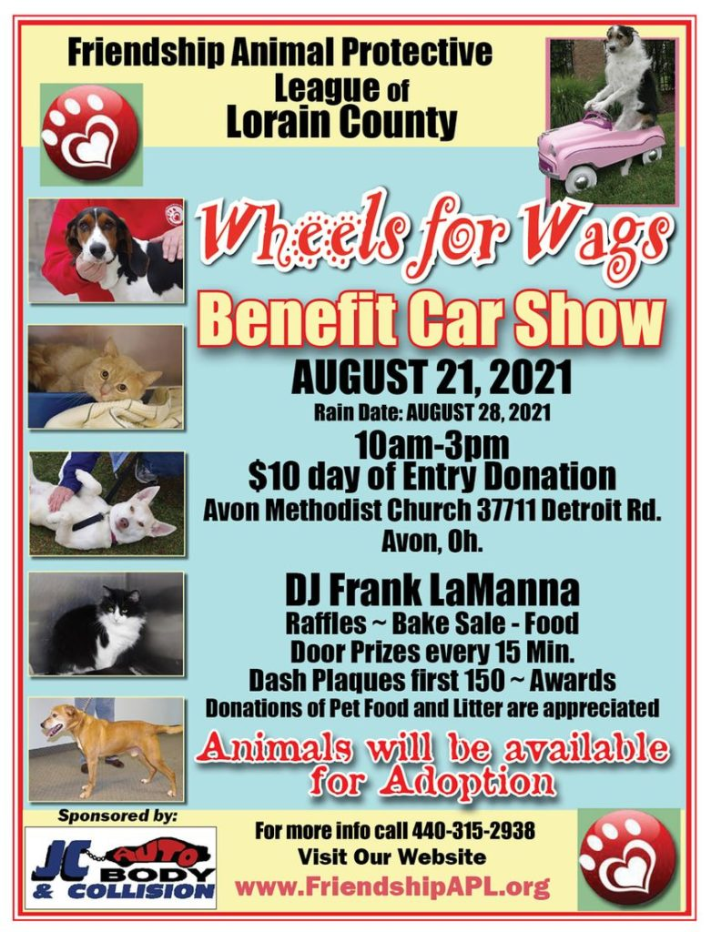Wheels for Wags Benefit Car Show