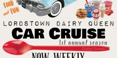 Lordstown Dairy Queen Car Cruise