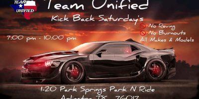 Team Unified Kick Back Saturdays