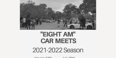 EIGHT AM Car Meet