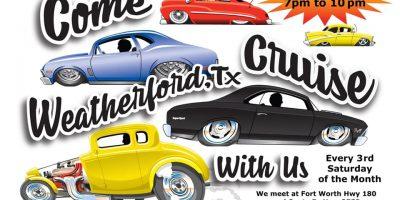 Weatherford Cruise night