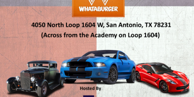 Whataburger Hot Rod And Muscle Car Cruise In