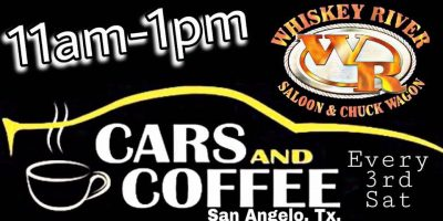Cars and Coffee at Whiskey River