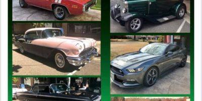 Rusty Lug Nuts Second Saturday Car Show