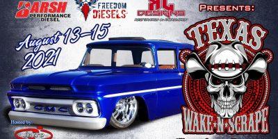 Texas Wake N Scrape by Mad Gear Hot Rod Apparel