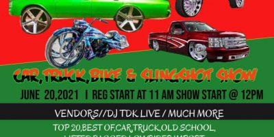 Juneteenth Car, Truck, Bike & Slingshot Show