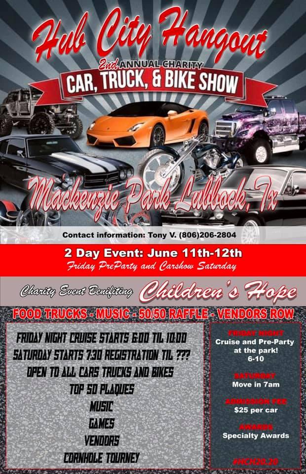 Hub City Hangout Car Show