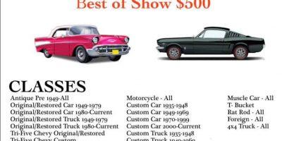 11th Annual Shiner VFD - Auto Show