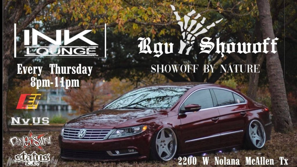 Thursday Night Meet by RGV Showoff @ Ink Lounge