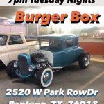 Tuesday Night Cruise In @ Burger Box