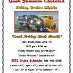 Gear Jammin Classics Friday Cruise Night