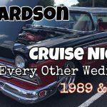 Meteor Hamburgers Richardson Wednesday Cruise Night