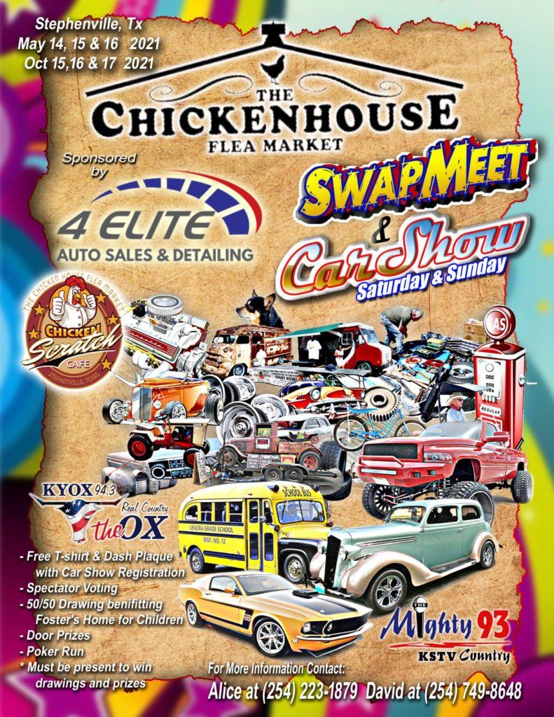 THE CHICKENHOUSE FLEA MARKET SWAPMEET & CAR SHOW