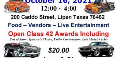 Lipan Volunteer Fire Department Fundraiser & Classic Car Show