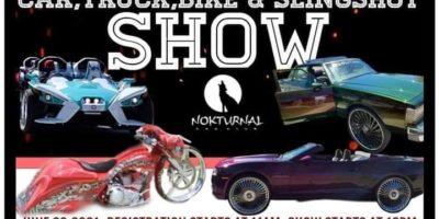 CJ AND Nokturnal Car Club 1st Annual Juneteenth CAR,TRUCK,BIKE & SLINGSHOT SHOW
