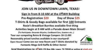 7th Annual Main Street Lawn Car Show
